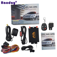 GPS Vehicle Tracker GPS105B/TK105B Support RFID Camera with External GSM/GPS Antenna and Micphone Remote Controller