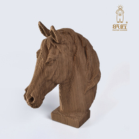 2018 new Horse head home decoration christmas decorations for home wedding decoration halloween toys for men
