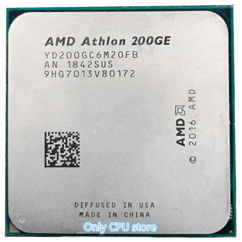 AMD200GE AMD Athlon 200GE supports ASRock AB350 PRO4 free shipping