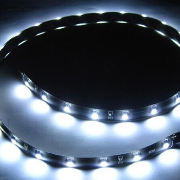 Car Auto LED Strip Light  12V Warm Cool White Yellow Green Blue Red Ribbon Ceiling Cabinet Lights Waterproof