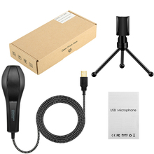 Metal Usb Condenser Recording Microphone For Laptop Mac Or Windows Cardioid Studio Vocals ,Voice Over