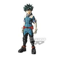 Tronzo 25cm Original Banpresto My Hero Academia Grandista MIDORIYA IZUKU PVC Action Figure Model Toys Anime GROS Figurine Jouets