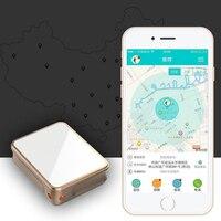 Vibrazione Allarme Localizzatore GPS Inseguitore Posizionamento in tempo Reale Mini Telefono Tracker Supporto Android IOS APP per Bambini In Bicicletta Bagaglio