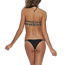 Sexy Bikinis Women S-L Size Swimsuit Bathing Suits Low Waisted Swim Halter Push Up Bikini Set Swimwear 2017 New Arrival
