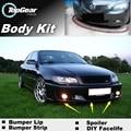 Deflector pára Lábio Lábios Para Opel Omega B1 B2 Spoiler Dianteiro saia Para TopGear Amigos Carro Tuning Ver/Body Kit/tira