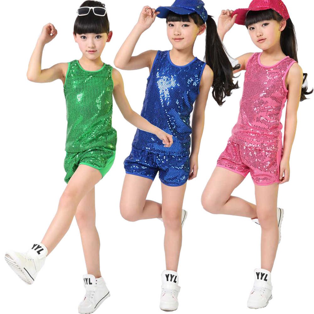 83d4cdcbe Detail Feedback Questions about Girls Boys Sequined Ballroom Jazz ...