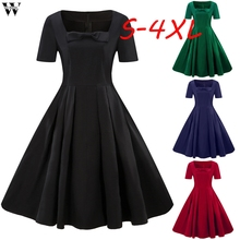 Buy summer vintage christmas dresses size and get free shipping on  AliExpress.com d82fd746df3d