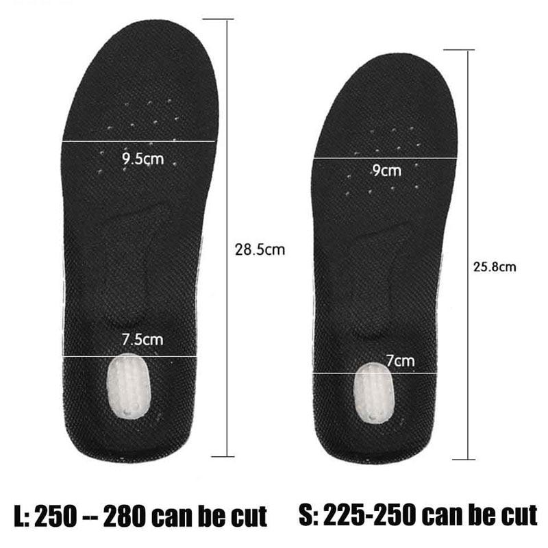 NANCY TINO Unisex Orthotic Arch Support Sport Shoe Pad Sport Running - Accesorios de calzado - foto 4