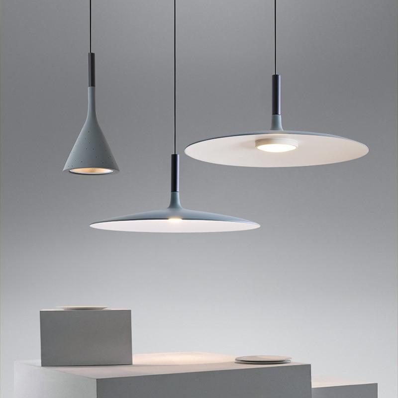 Nórdico cozinha cimento de Imitação Pingente de Resina Lâmpadas LED lampes suspendues Quarto Restaurante Sala de Jantar Bar Sótão Luz Pingente