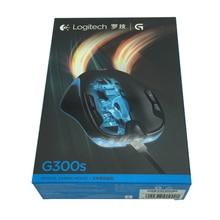 מקורי Logitech G300s רטון משחקים עכבר 2500 DPI USB Wired אופטי Wensor שניהם ביד עכבר עם 7 צבע תאורה אחורית