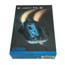Original Logitech G300s raton Gaming Mouse 2500DPI USB Wired Optical Wensor Both Handed Mouse with 7 Color backlit