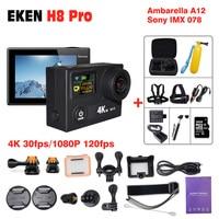 EKEN H8R H8 pro 1080 P ספורט חיצוני פעילות מצלמה מצלמת deportivas HD עמיד למים ללכת גיבור פרו 5 'זווית מיני וידאו מתחת למים DV