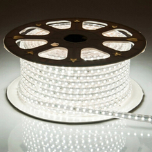 LAIMAIK LED Strip Light 5050 Waterproof IP67 AC 220V LED Light Strip 60leds/m 5050SMD LED Strip Light With Power Plug LED Lights(China)