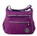 2016 Nova sacos de Nylon Impermeável mulheres mensageiro Estilo Original Carteira de Embreagem Casuais Viajar Sacos de Ombro do Sexo Feminino