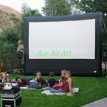 16:9 Outdoor Movie inflatable mobile screen, Inflatable Air Screen, inflatable television screen 1