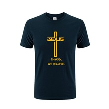 Christian T-Shirt  In God We Believe