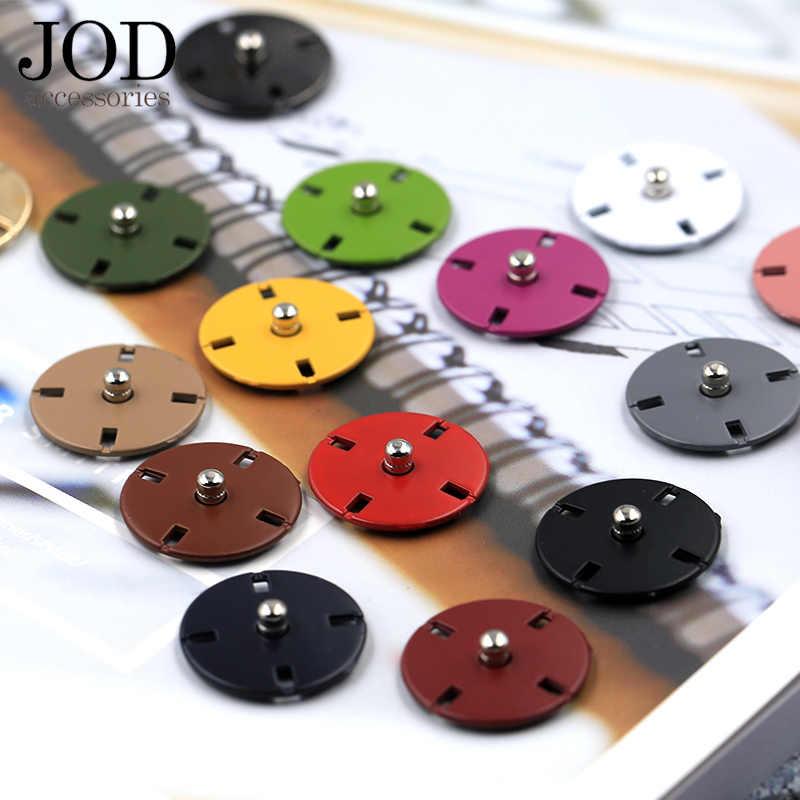 Zatrzask metalowy przycisk do odzieży łączniki przyciski Stud Coat akcesoria do szycia odzieży 10/12/15/18/21/23mm kolory 5 sztuk