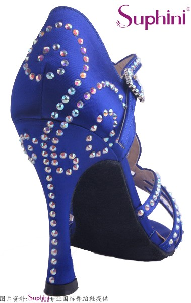 Free Shipping Handmade crystal Women s font b Salsa b font Dance font b Shoes b