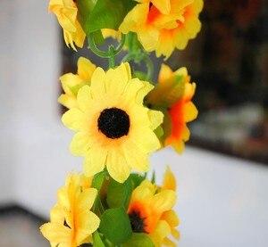 Image 5 - Artificial flowers vine simulation flower cane Sunflower cane Sunflower rattan  home flowers decoration wholesale