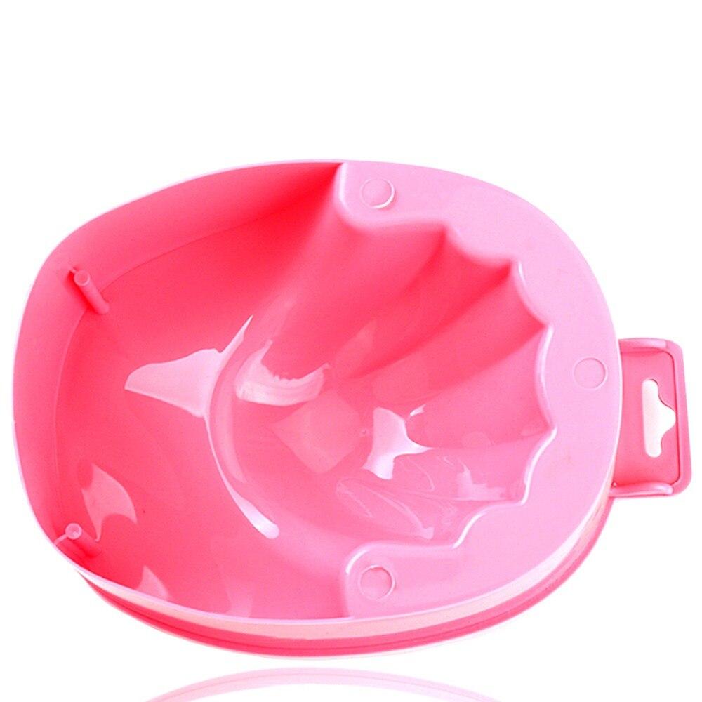 2 stücke bad nagel kunst hand waschen remover tränken schüssel diy ...
