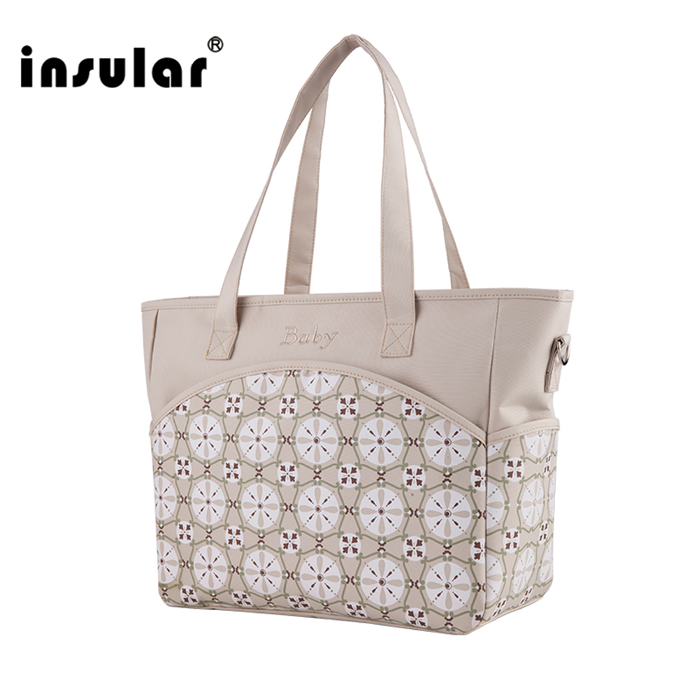 Insular Baby Stroller Travel Mummy Maternity Messeger Diapering Nappy Changing Diaper Bag Organizer Baby Bags For Mom 3 pcs set baby nappy changing bag fashion ladies solid hobos handbag big capacity infant diapering bags travel stroller bag