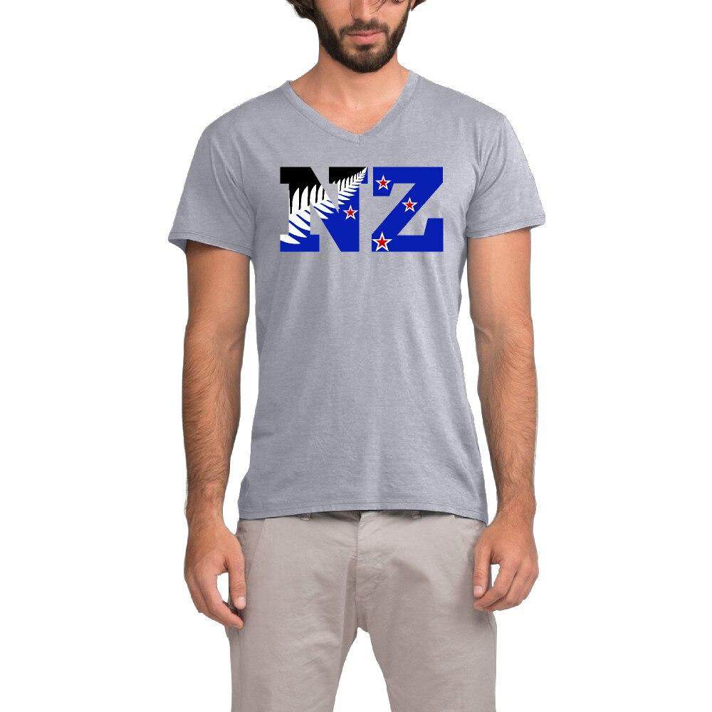 Design t shirt new zealand - New Zealand Flag Nz Fern Leaf Design Mens T Shirts Fashion 2017 Design Cotton T