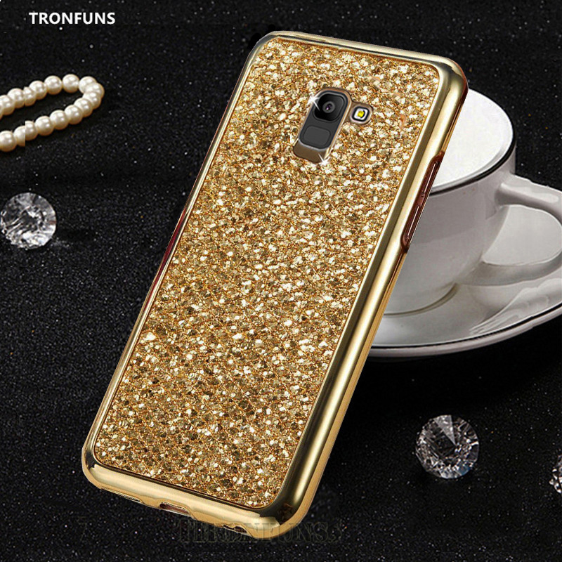 Glitter Bling Soft TPU Case For Samsung Galaxy J4 J6 J8 Plus 2018 J415 J2 J3 J5 J7 Neo NXT Metal Prime 2 2016 2017 Cover Funda image