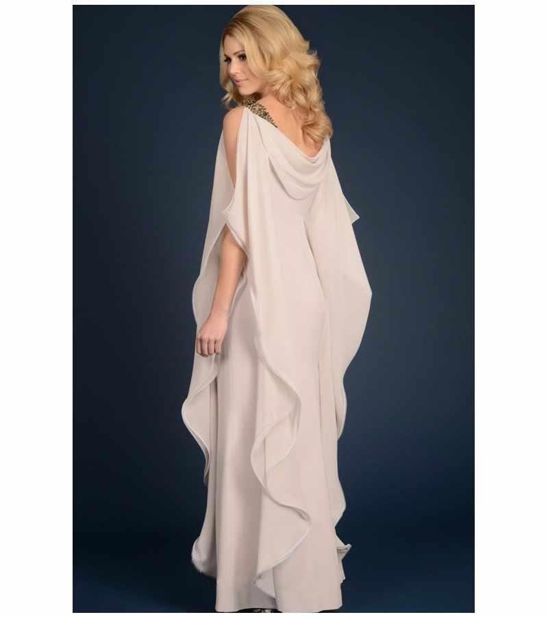 Talla grande 2019 vestidos de Madre de la novia vaina con volantes vestidos largos de fiesta de boda vestidos de madre para boda
