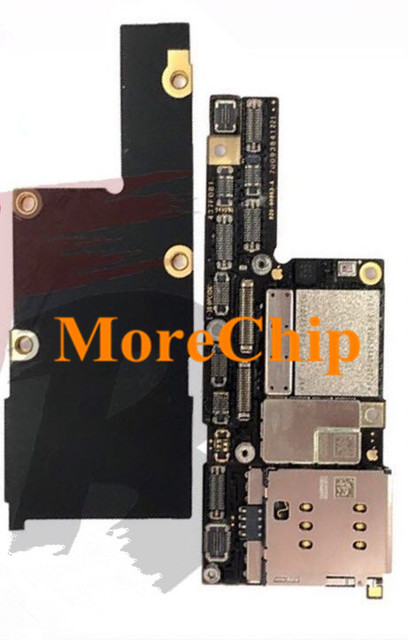 huge discount 8c8bb ed87d US $51.2 |For iPhone X ID Motherboard 64GB Original Used Mainboard For  Qualcomm Version Logic Board Good Working After Change CPU Baseband-in  Mobile ...