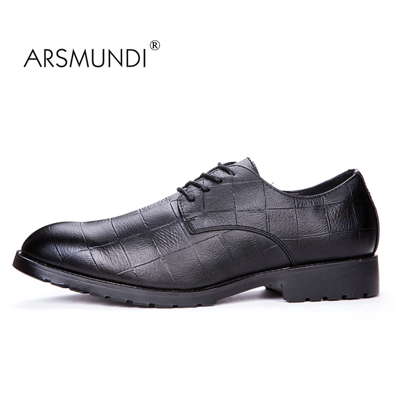 ARSMUNDI Original Herr Casual Shoes Fall 2017 Svart Mode Skor Andas - Herrskor