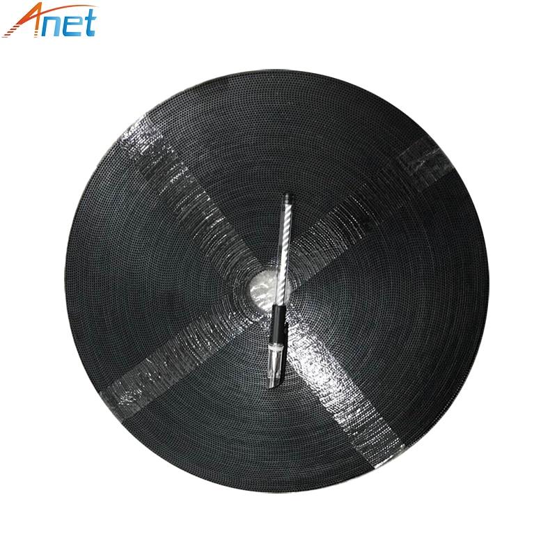 100 Mètre/lot Gt2-6mm Calendrier Ouvert Ceinture Largeur 6mm 20-GT2-6 GT2 Poulie Pour Anet 3D Imprimante BRICOLAGE Accessoires