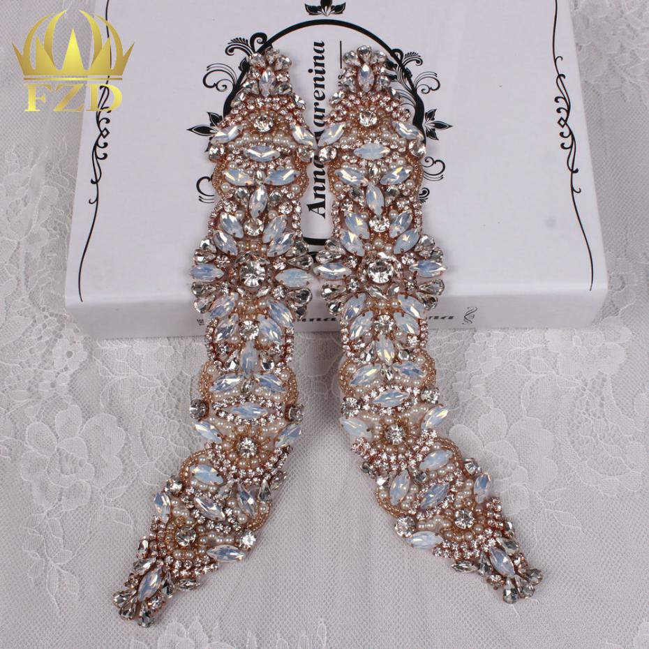 Rose Gold Rhinestone Applique - imgUrl 9032dd01e35b