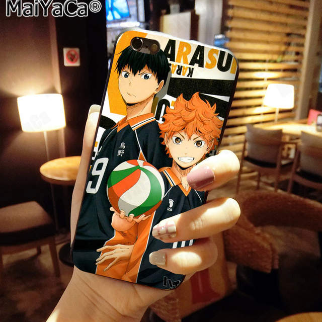 US $1 41 29% OFF|MaiYaCa Collection of Haikyuu Soulmate New Arrival Fashion  phone case for Apple iPhone 8 7 6 6S Plus X 5 5S SE XS XR XS MAX-in