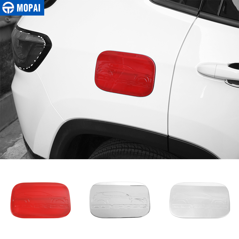 MOPAI ABS Car Exterior Oil Gas Fuel Tank Cap Cover Decoration Trim Stickers for Jeep Compass 2017 Up Car Accessories Styling-in Tank Covers from Automobiles & Motorcycles