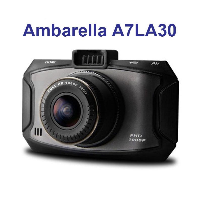 G90 Ambarella A7LA30 500MP Built In Recorder 1920*1080P Full HD HDMI 2.7inch G-sensor 170 Degree Free Shipping!! автомобильный видеорегистратор oem g90 1080p hd 170 ambarella a7la30 dvr