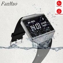 Fanmao ЭКГ Monitores Смарт-часы Presión arterial сердечного ритма трекер Smart Band Графен спортивные Водонепроницаемый Плавание браслет для телефонов