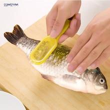 1 шт. рыбы скребок для чешуи кисти бритва с нож-скребок творческий многоцелевой Кухня сад Пособия по кулинарии щипцы для морепродуктов чистой