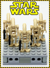 5pcs MOC STAR WARS Mini Soldiers Clone Troopers Action Figure Rogue One Building Blocks minifig Kids Toys -NOT INCLUDE MINIFIG