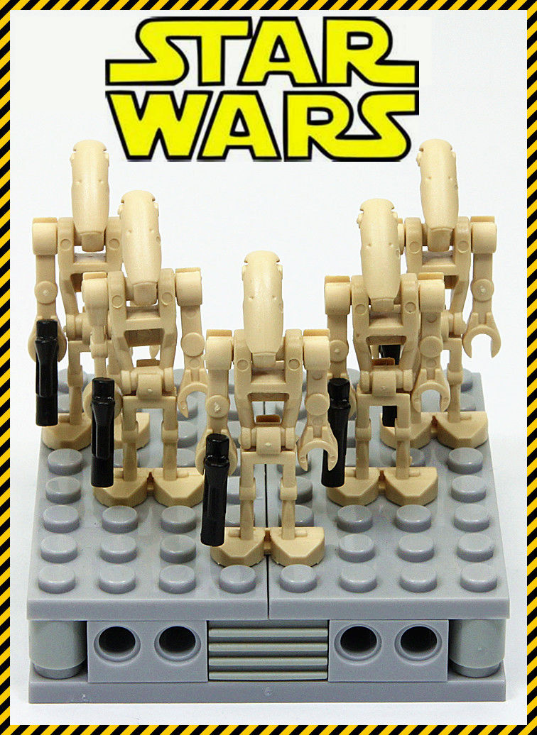 5pcs MOC STAR WARS Mini Soldiers Clone Troopers Action Figure Rogue One Building Blocks minifig Kids Toys -NOT INCLUDE MINIFIG single sale star wars rogue one k 2so droid robot sw782 assemble minifig building diy blocks kids toys