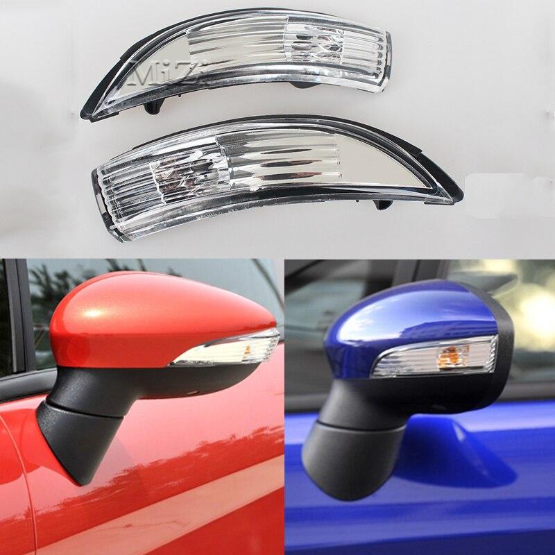 Для Ford Fiesta MK8 2008-2016 зеркальные огни заднего вида поворотные сигнальные огни боковые зеркальные лампы зеркальный индикатор Заднего вида