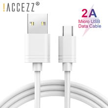 !ACCEZZ TPE Fast Sync Micro USB Cable Android Phone For Samsung S7 S6 Xiaomi Redmi Note 4 4X Huawei LG Charger Data Cord