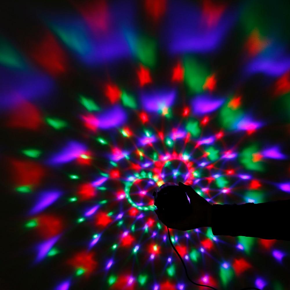 Yeni Sehrli Rəngli Kristal Sehrli Top 3W Mini RGB Mərhələ - Ticarət işıqlandırması - Fotoqrafiya 5