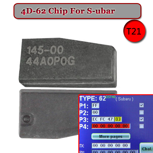 ID 4D-62 (T21) Transponder Chip For Subar