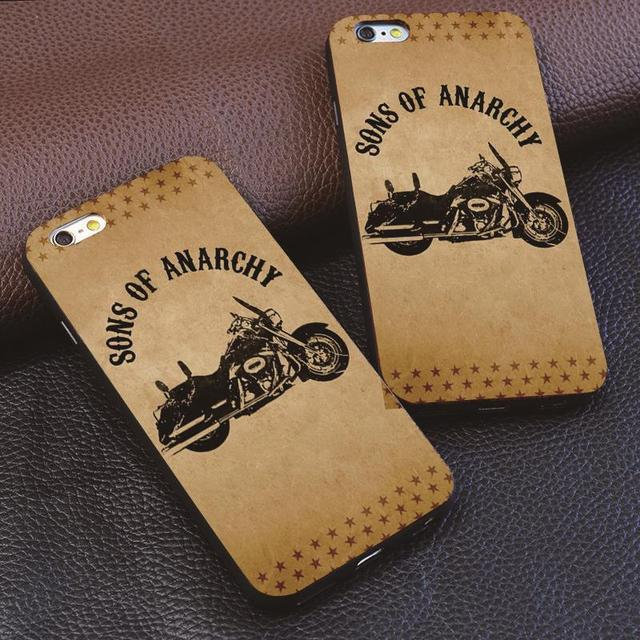 Sons of Anarchy Movie Poster For iphone 4 4s 5 5s 6 6s 7 plus for Samsung s3 s4 s5 s6 s7 Edge