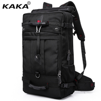 2017 Brand Designer Men Travel Bags Large Capacity 50L Versatile Multifunctional Waterproof Backpack Luggage For 17inch
