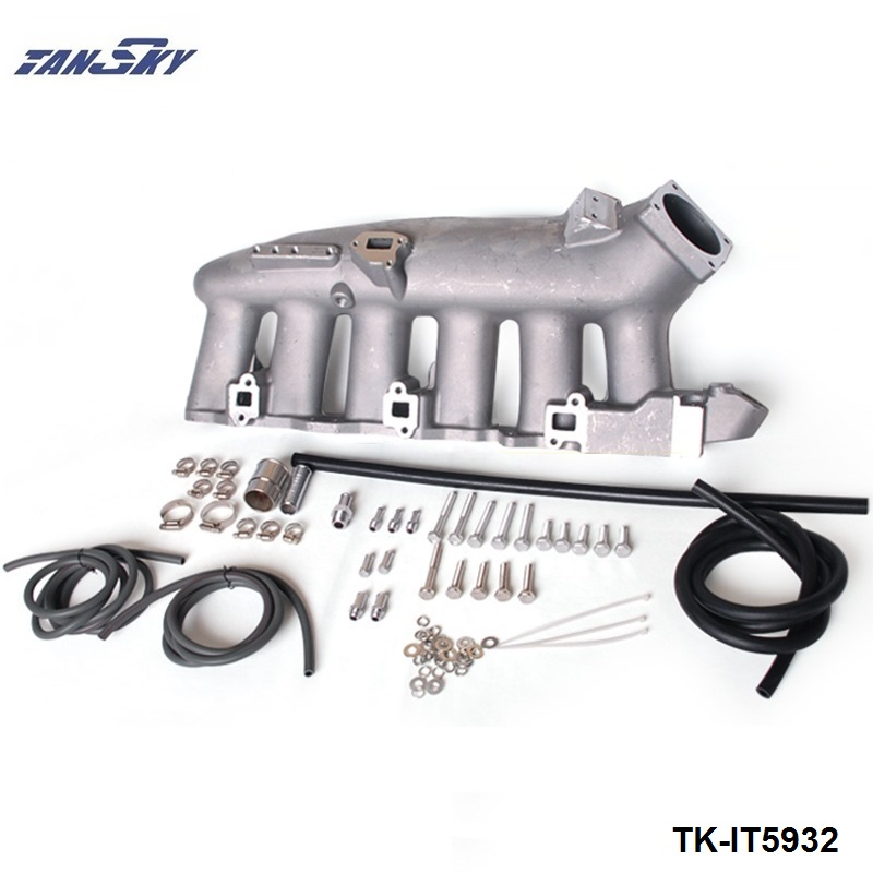 Engine Swap Turbo Intake Manifold For Nissan RB25 ECR33 High Performance TK-IT5932 цены