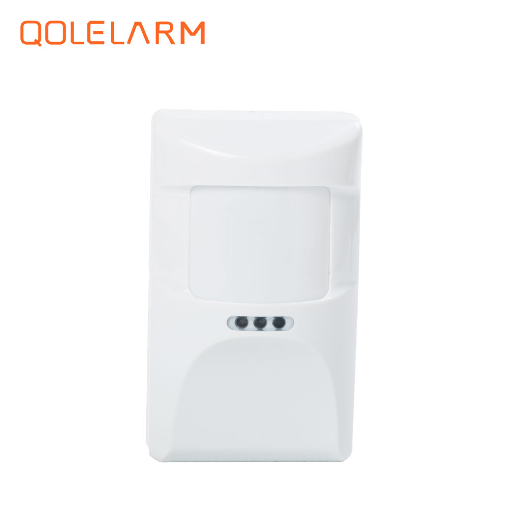 433MHz Wireless pet immune anti-pet infrared sensor pet friendly PIR detector for pstn wife gsm alarm system high quality wireless gsm sms pstn anti thief alarme maison with pet immune pir sensor free shipping