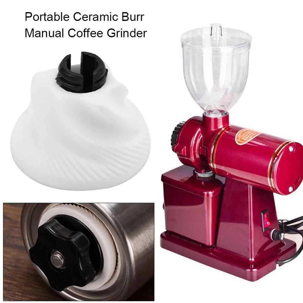 Portable Ceramic Burr Manual Coffee Grinder for Home Office Hand Crank Bean Mill Kitchen Tool Crocus Grinders Easy Cleaning