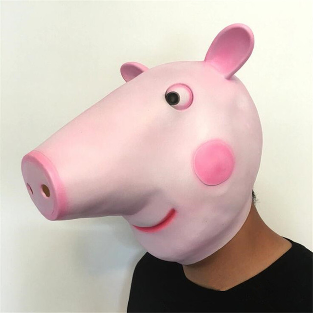 Маска Свинка Пеппа 4