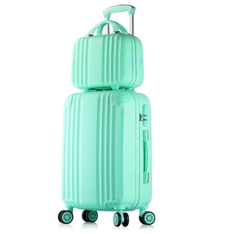 Ruedas Envio Gratis Com Rodinhas Trolley Carry On Bag Bavul Mala Viagem Koffer Valiz Maleta Suitcase Luggage 20222426inch